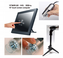 2017 Hot Style 3D Touch Screen Skin Analyzer Machine for Skin Test