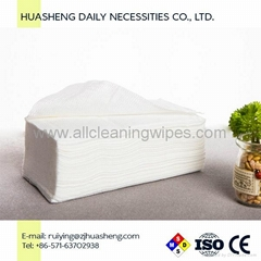 Cotton Dry Facial Wipes Nonwoven Dry