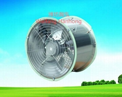 circulation fan for ventilation and air blowing