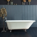 Single Ended Classic Roll Top Clawfoot Tub