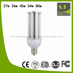 27w 36w 45w 54w 80w LED corn light