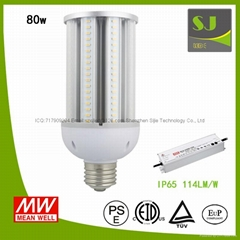 Energy Saving E40 Outdoor Warm White LED Corn Light 80W