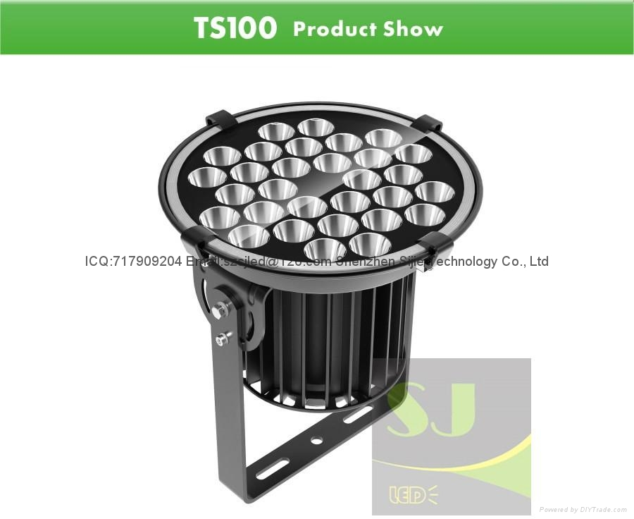 100W LED Stadium Light Stage Lighting 5 Years Warranty 2