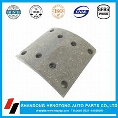 Brake lining manufacturer factory