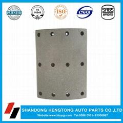 VOLVO brake lining made in China