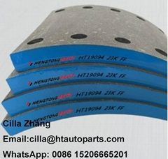 Brake Lining with Rivets for volvo