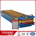 Aluminum Roof Glazed Tile Roll Forming machine