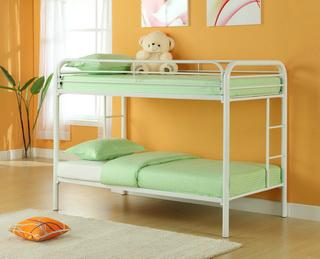 Twin Twin Bunk Bed 1