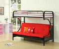 Twin Futon C Style Bunk Bed
