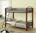Twin Twin Convertible Wooden Post Bunk