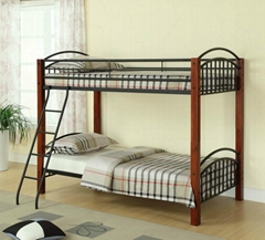Twin Twin Convertible Wooden Post Bunk Bed