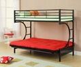 Twin Futon C Style Bunk Bed 2