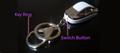 037D zinc Anti-lost alarm key chain