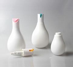 Plastic bottles for lotion, shampoo