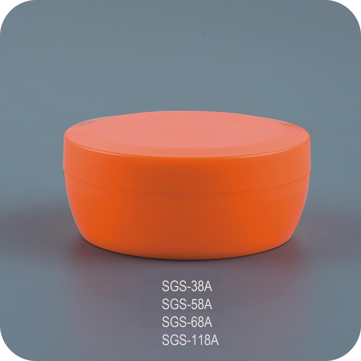 80g Colorful Face Cream Jar 3