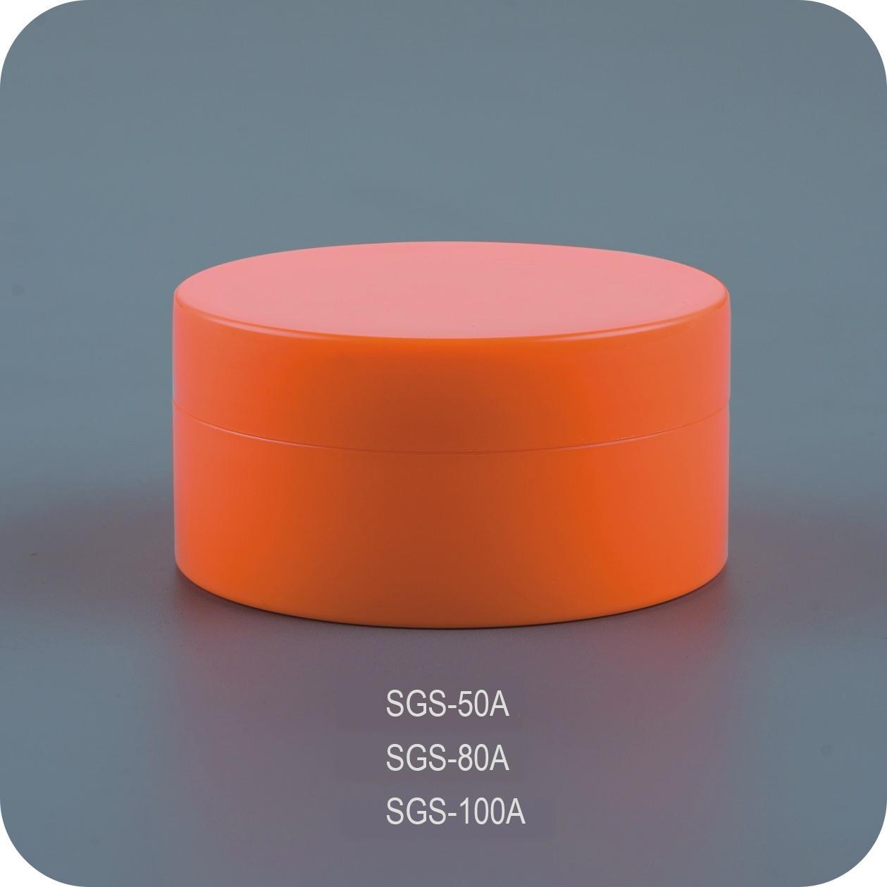 80g Colorful Face Cream Jar 4
