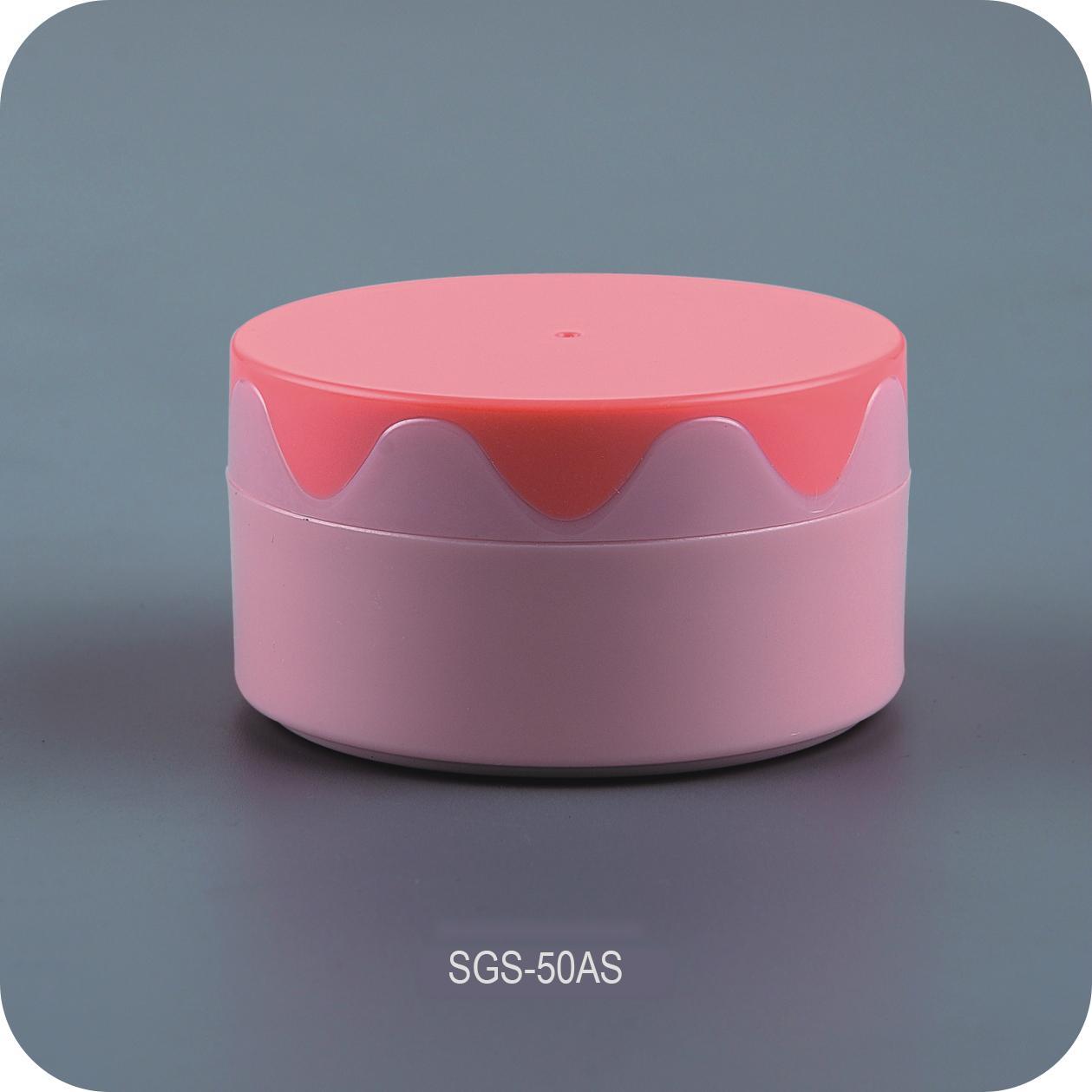 80g Colorful Face Cream Jar 1