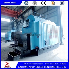 Machine Manufacturers Water Pipe 1000Kg Biomass Steam Boiler for Sale