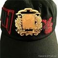 HongfuxinBrass 3D engraving Carved Badge
