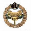 Hongfuxinzinc Alloy Struck 3D Metal Badge  4