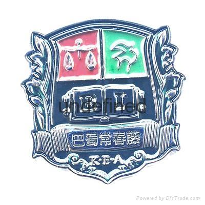 Hongfuxinzinc Alloy Struck 3D Metal Badge  5