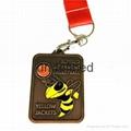 HongfuxinBrass 3D engraving 3D Medal