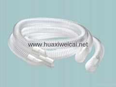 Disposable anesthesia breathing pipe