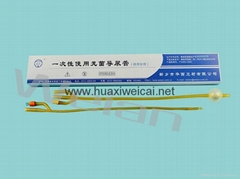 Disposable medical asepsis catheter
