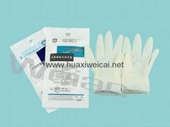 一次性灭菌橡胶外科手套医用外科检查手术手套