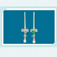 針管回縮式靜脈留置針 回縮式聚氨酯靜脈留置針 一次性留置針