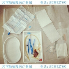 The disposable use asepsis catheter urethral catheterization bag