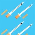 一次性使用BD无菌胰岛素注射器  带针1ml胰岛素注射器带针