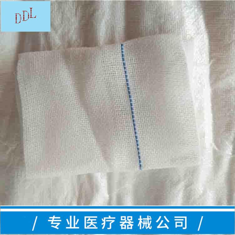 医用显影纱布块 一次性使用显影纱布块 1
