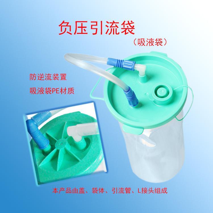 negative pressure drainage device 1