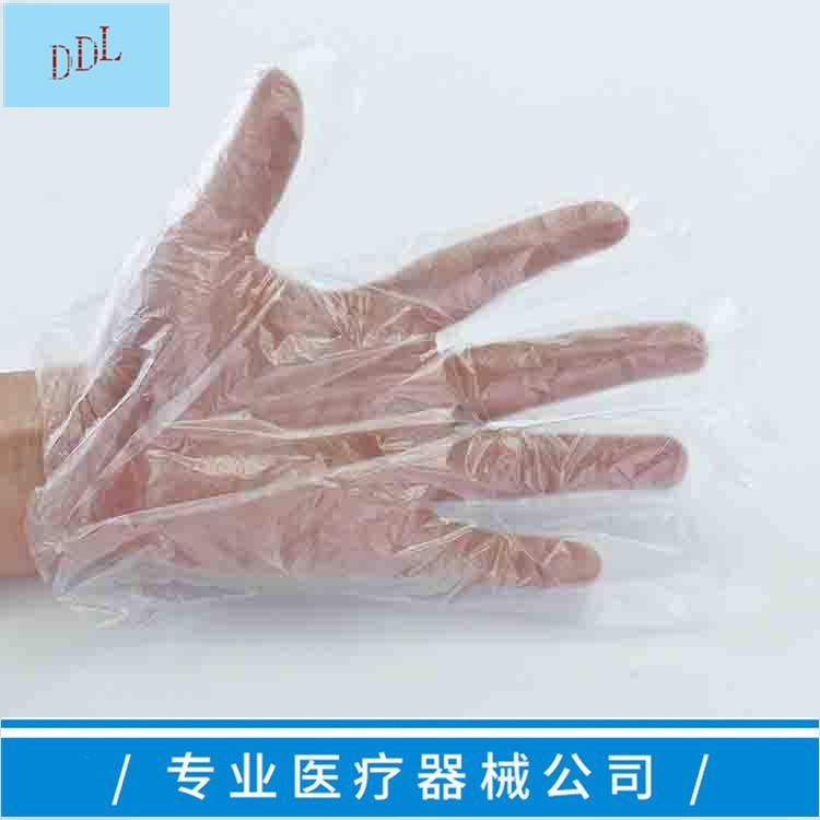 一次性使用聚乙烯檢查手套 PE薄膜手套 8