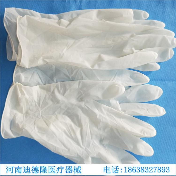 disposable sterilized rubber surgical gloves 2