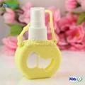 Silicone Perfume bottle case