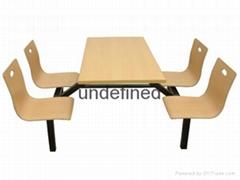 吉榮牌校園固定排椅