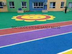 幼儿園塑膠地板