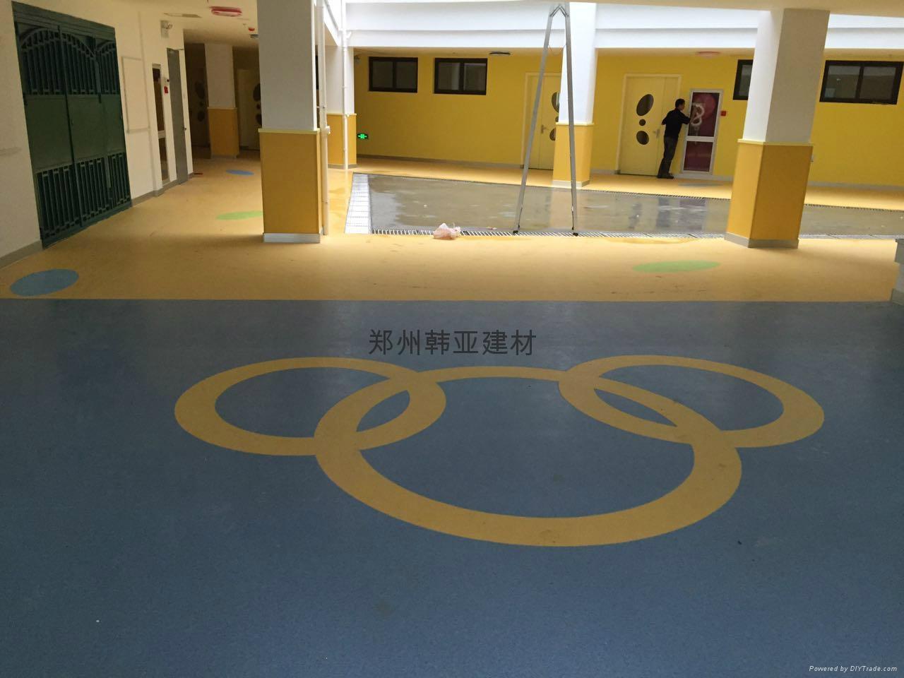 郑州韩亚塑胶地板 4