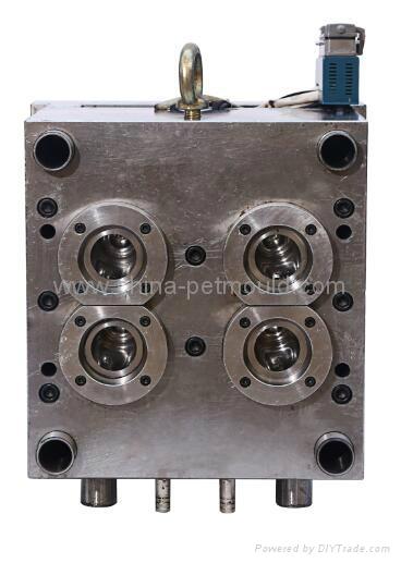 4cavity PET preform mould,PET preform mold,PET preform die 1
