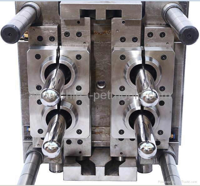4cavity PET preform mould,PET preform mold,PET preform die 4