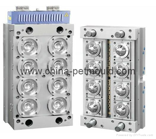 used plastic household pet injection preform mould for 8cavity 4