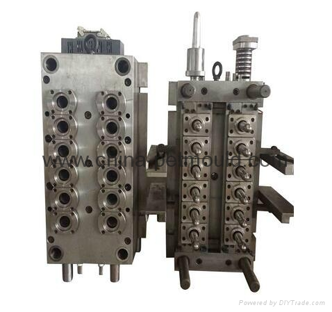 pet preform mould for cosmetic package 1