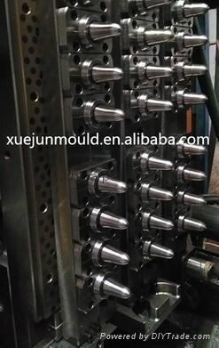 32cavity hot runner valve-gate preform mould 2