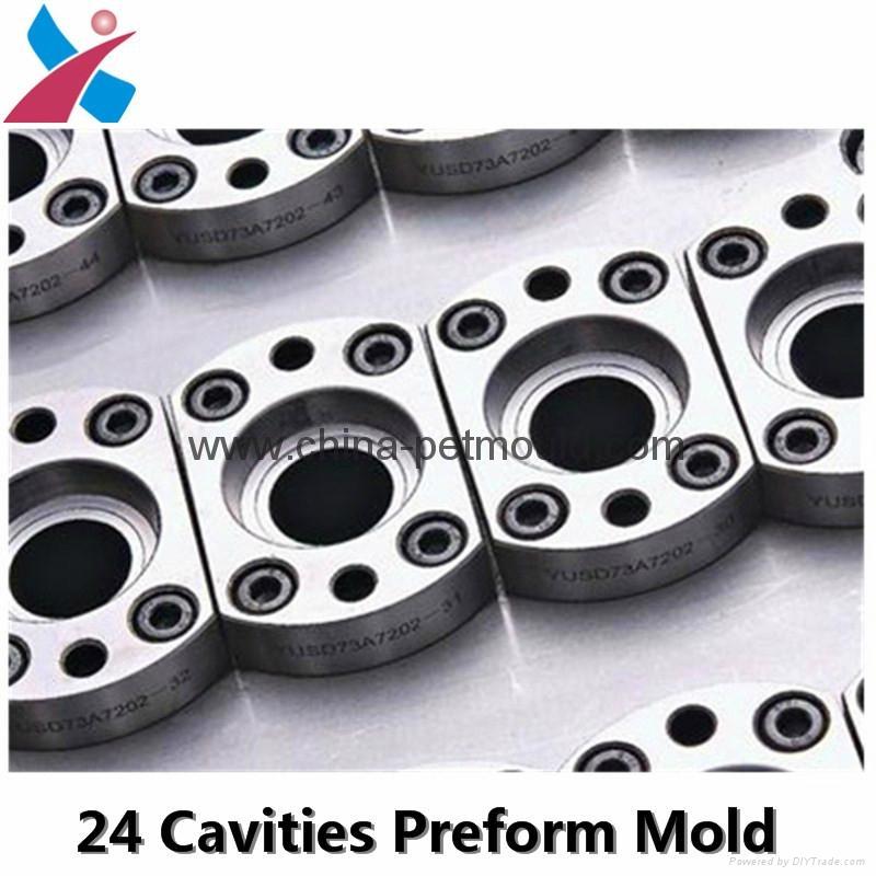 32cavity hot runner valve-gate preform mould 4