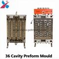 multi cavity plastic  pet preform bottle tube mould 2