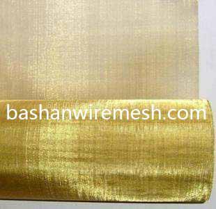 China steel mesh manufacturers Brass Wire Mesh 1