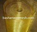 China steel mesh manufacturers Brass Wire Mesh 4
