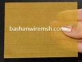 China steel mesh manufacturers Brass Wire Mesh 5